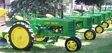display tractor